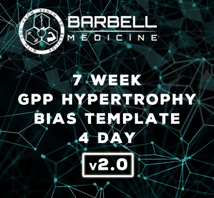 Review of the Barbell Medicine 7 Week Hypertophy Template v2